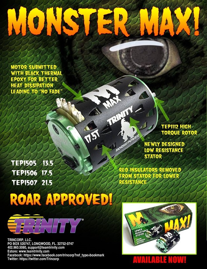 Trinity Monster Max 13.5, 17.5 & 21.5 Spec Motors (2)