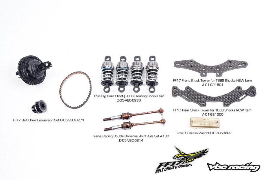 VBC FF17 Belt Drive Dynamics 1_10 Touring Car Kit (2)