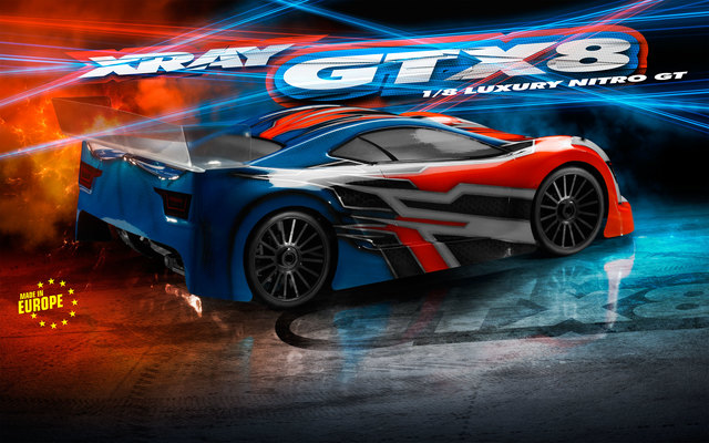 XRAY GTX8 1_8 Nitro On-Road Car (5)