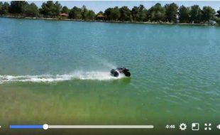 Traxxas X-Maxx 8S Hot-Laps a Pond [VIDEO]