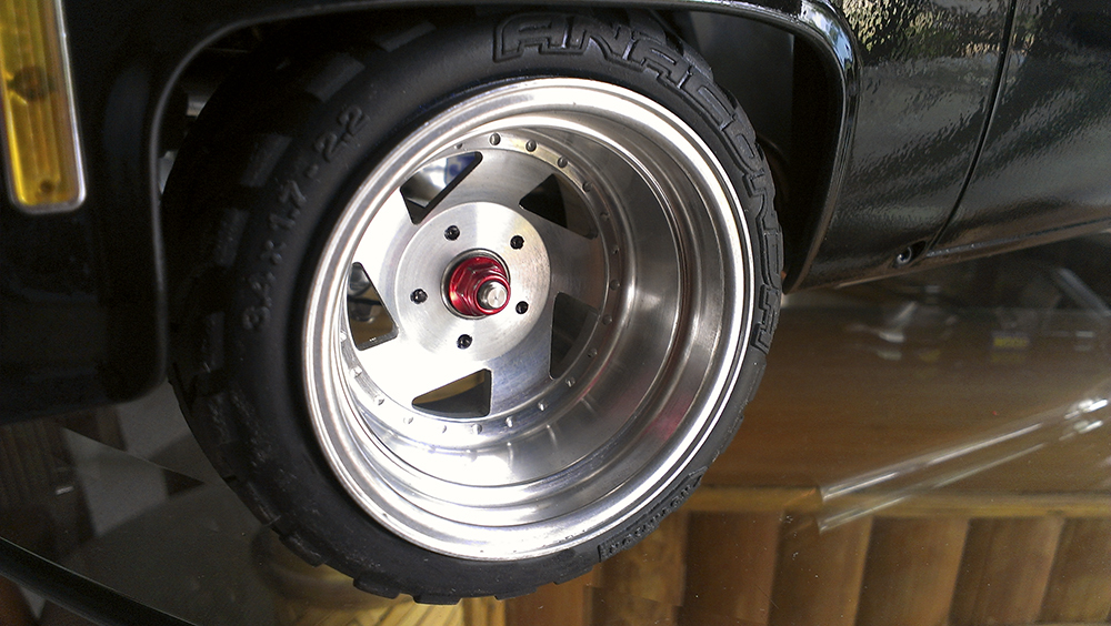 RC4WD, Axial Wraith, Traxxas Velineon, Sees Wheels