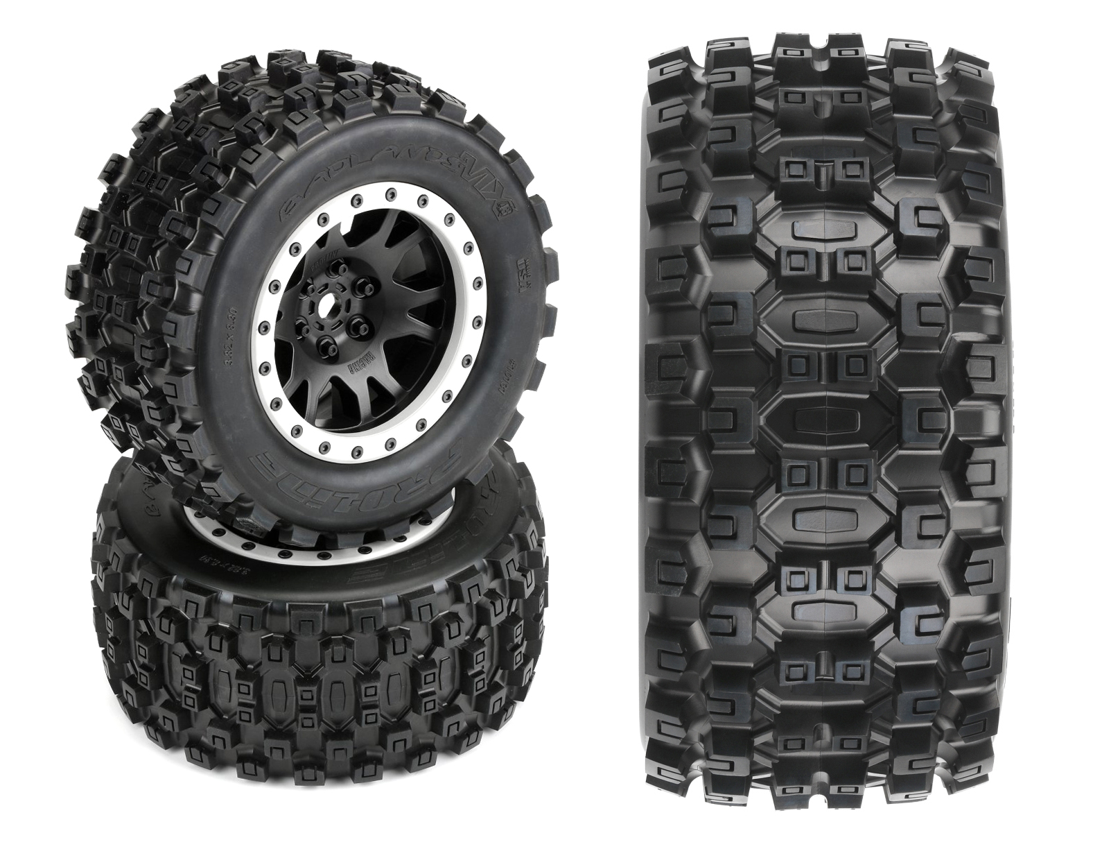 PRO-LINE MX43 Badlands Pro-Loc Tires Impulse Pro-Loc Wheels and Ford F-150 Raptor Body for Traxxas X-Maxx Review 2