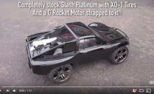 And Now, A Rocket-Powered Slash 4X4 [VIDEO]