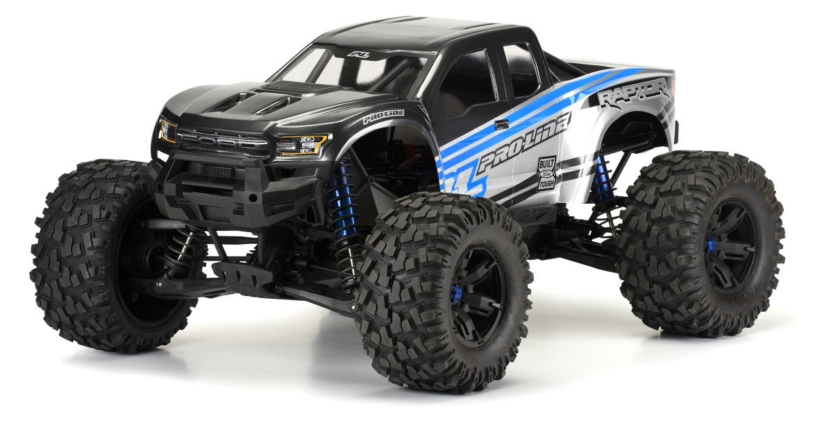 PRO-LINE MX43 Badlands Pro-Loc Tires Impulse Pro-Loc Wheels and Ford F-150 Raptor Body for Traxxas X-Maxx Review 7