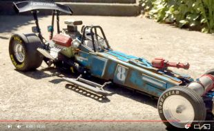 "This ""Post Apocalyptic Funny Car Build"" is Pretty Intense [VIDEO]"