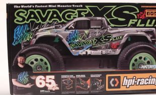 HPI Savage XS FLUX Vaughn Gittin Jr. Unboxed [VIDEO]