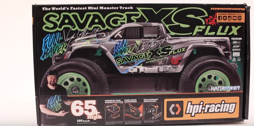 HPI Savage XS FLUX Vaughn Gittin Jr. Unboxed