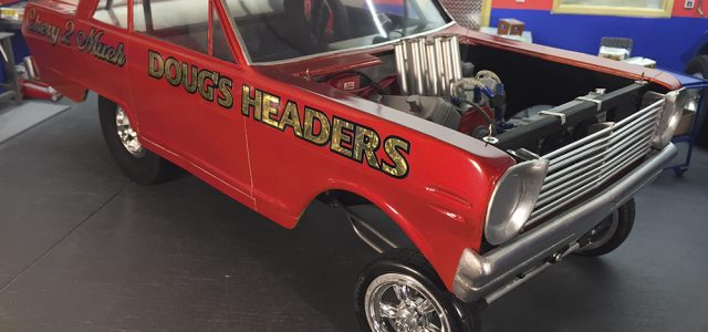 Classic Altered Chevy Drag Car [READER'S RIDE]