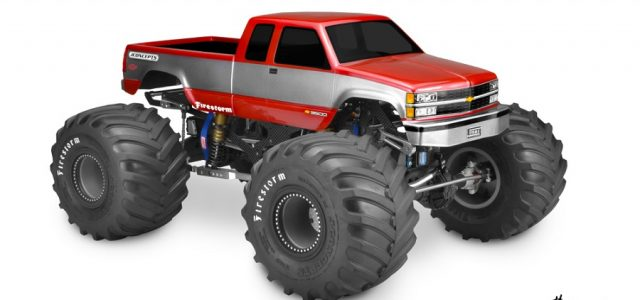 Jconcepts 1988 Chevy Silverado Monster Truck Body Rc Car Action