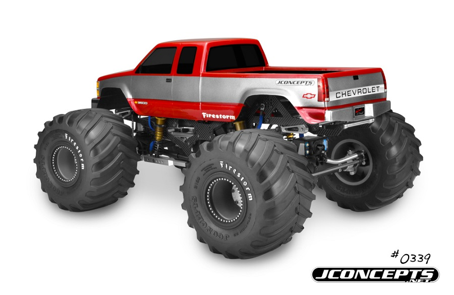 JConcepts 1988 Chevy Silverado Monster Truck Body (2)