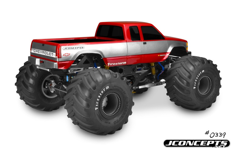 JConcepts 1988 Chevy Silverado Monster Truck Body (3)