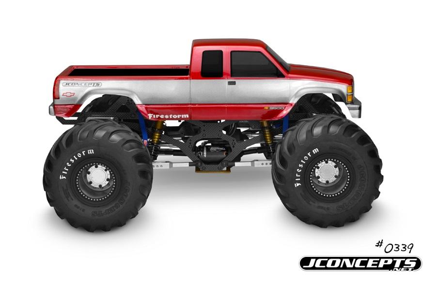 JConcepts 1988 Chevy Silverado Monster Truck Body (4)