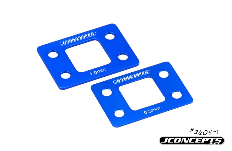 JConcepts B6 & B6D Suspension Aluminum Shim Sets (2)
