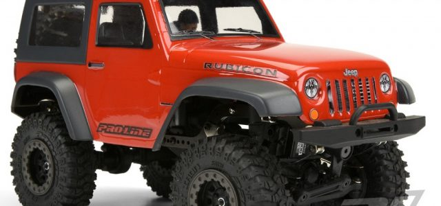 Pro-Line Ambush 4×4 Jeep Wrangler Rubicon Clear Body