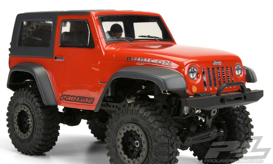Pro-Line Ambush 4x4 Jeep Wrangler Rubicon Clear Body (1a)