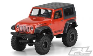 Pro-Line Ambush 4x4 Jeep Wrangler Rubicon Clear Body (5)