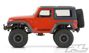 Pro-Line Ambush 4x4 Jeep Wrangler Rubicon Clear Body (6)
