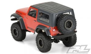 Pro-Line Ambush 4x4 Jeep Wrangler Rubicon Clear Body (7)