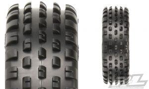 Pro-Line Wide Wedge 2wd Carpet Buggy Front Tires (2)