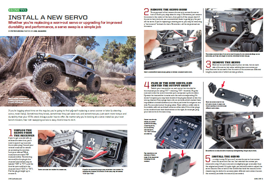 RC Car Action How To Install Servo 1