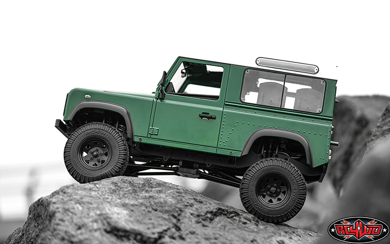 RC4WD RTR Gelande II Truck With Defender D90 Body Set (1)