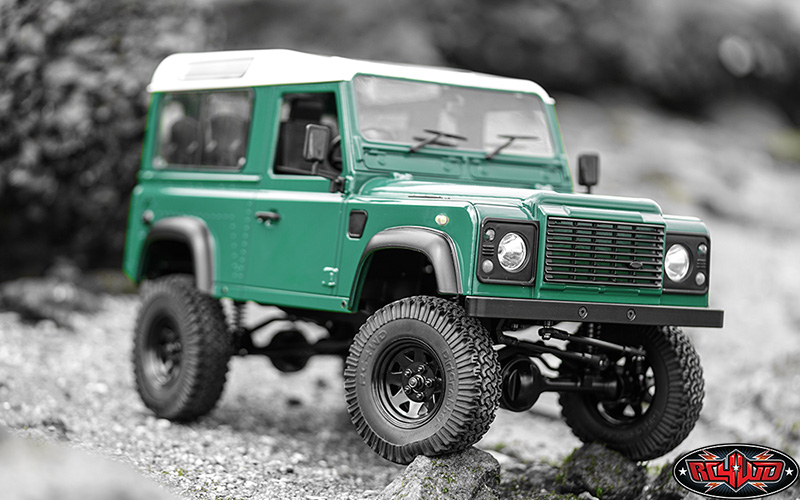 RC4WD RTR Gelande II Truck With Defender D90 Body Set (2)