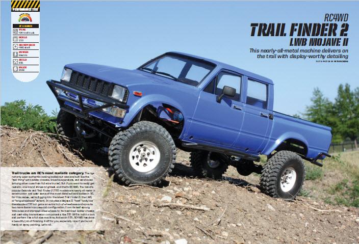 RC4WD Trail Finder 2 LWB 1