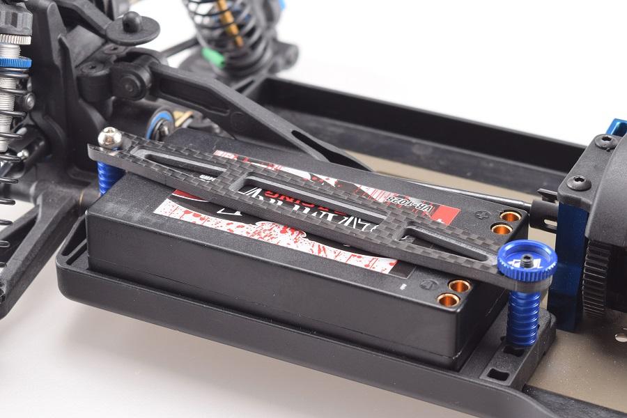 RDRP B64 Carbon Fiber Battery Plate & Servo Plate (4)