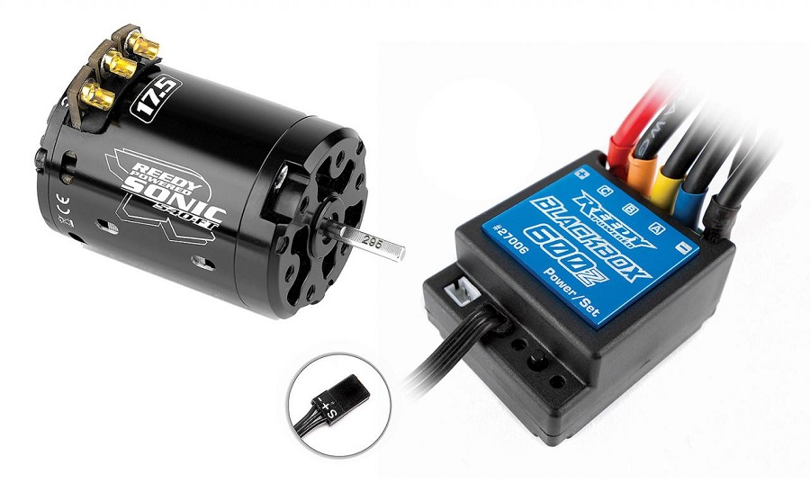 Reedy Blackbox 600Z ESC & Sonic 540-FT Combos (2)