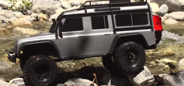 River Rocking With The Traxxas TRX-4 [VIDEO]