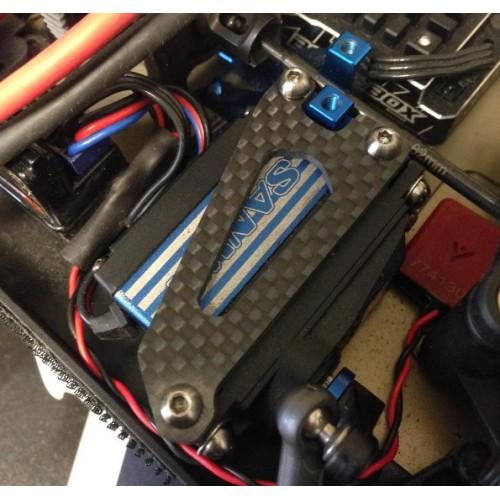 Schelle Antenna-Less B64 Carbon Servo Plate (1)