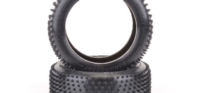 Schumacher Spiral 1/8 Truggy Tires