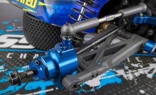 Team Associated 67mm FT B6 & B6D Rear Aluminum Hubs