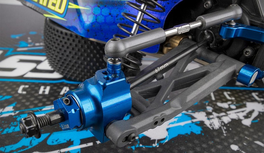 Team Associated 67mm FT B6 & B6D Rear Aluminum Hubs (1)