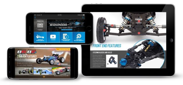 Team Associated Garage App For Mobile Devices