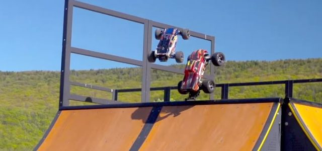 Traxxas Rustler & Stampede VXL RC Parkour [VIDEO]
