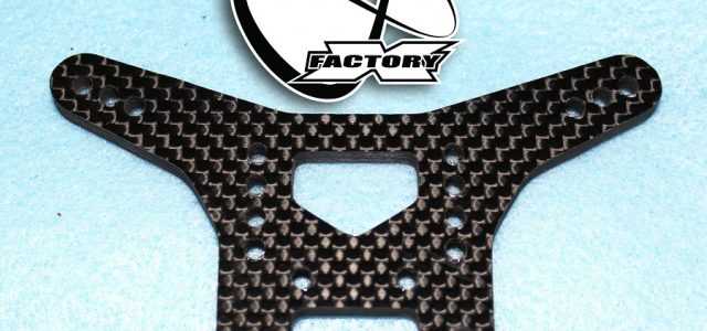 X Factory Infinity Dirt Spec Shock Towers For The XRAY XB2