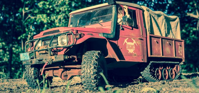 Axial SCX10-based Toyota Half-Track is All Awesome [READER'S RIDE]