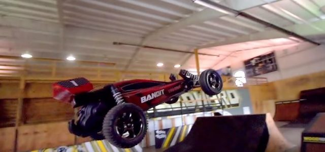 Traxxas Bandit VXL Freestyle Foam Pit Session [VIDEO]
