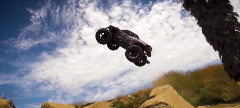 Defying Gravity With The Traxxas X-Maxx