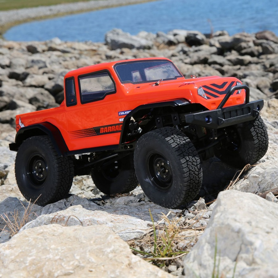 ECX 1.9 Barrage 4WD Scaler Build-To-Drive Kit (1)