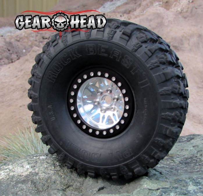 Gear Head RC 2.2 Vegas Beadlock Wheels (2)