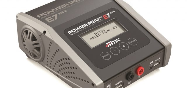 Hitec Power Peak E7 Professional Charger/Discharger