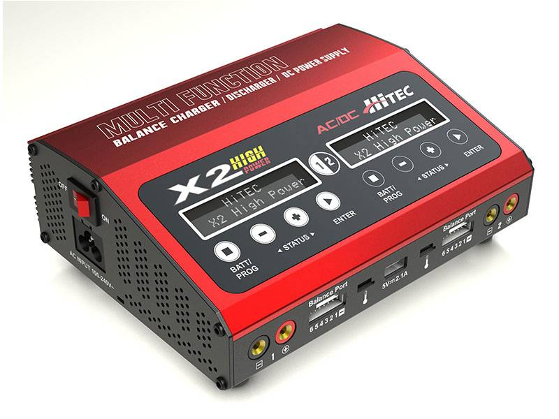 Hitec X2 High Power Dual Charger (1)