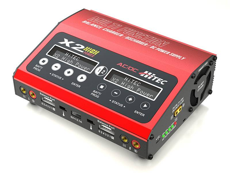 Hitec X2 High Power Dual Charger (2)