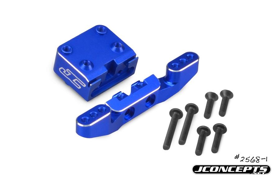 JConcepts B6 & B6D Aluminium Front Camber Link Mount (1)