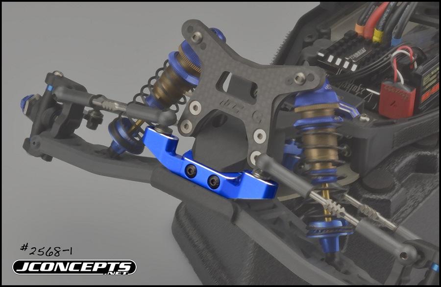 JConcepts B6 & B6D Aluminium Front Camber Link Mount (2)