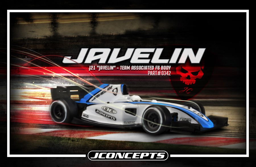 JConcepts J21 Javelin Body For The Team Associated F6 (5)