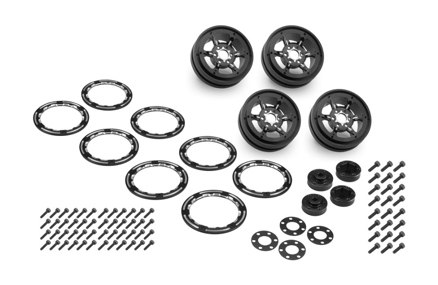 JConcepts Torch 1.9 Wheels & Weights For Traxxas TRX-4 (1)