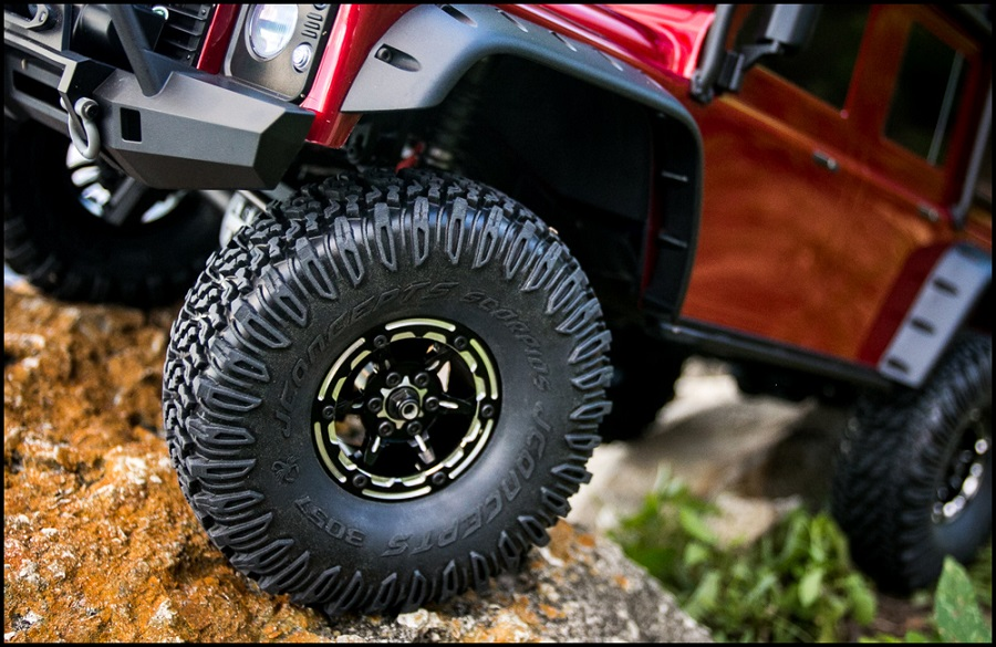JConcepts Torch 1.9 Wheels & Weights For Traxxas TRX-4 (2)